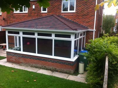metrotile conservatory roof